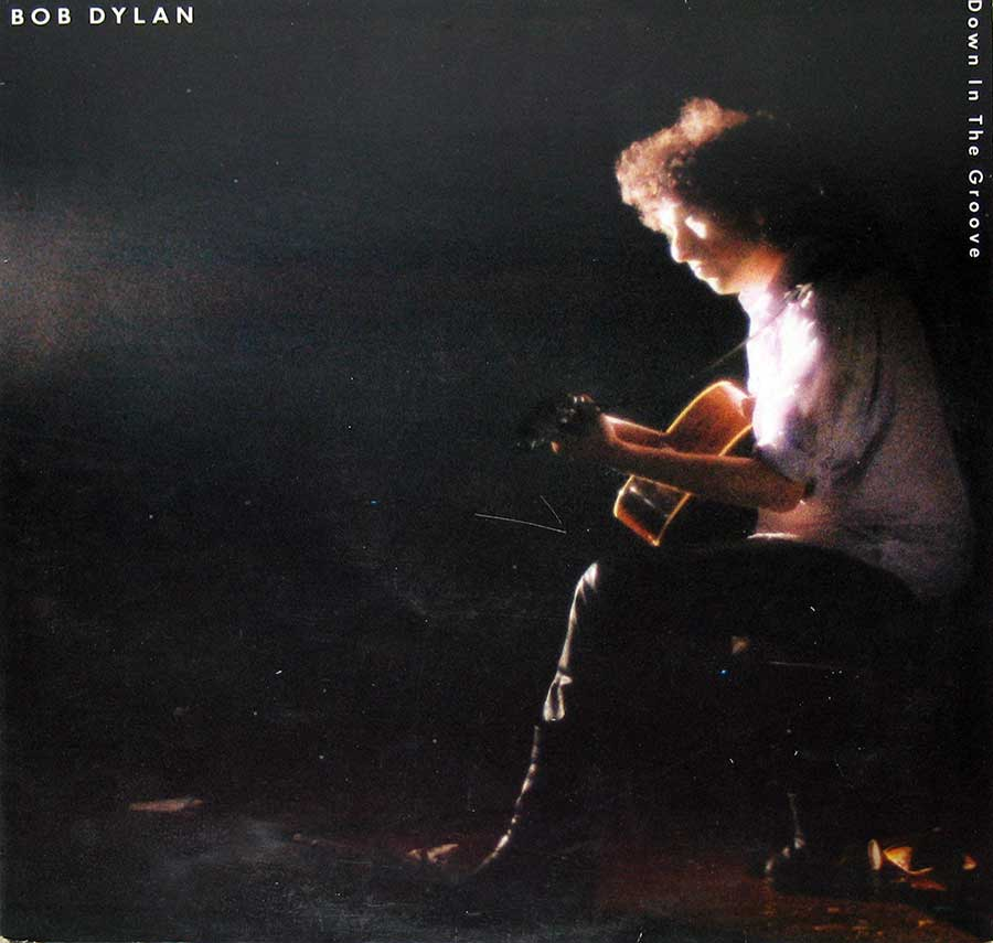 "BOB DYLAN - Down In The Groove 12"" Vinyl LP Album  front cover https://vinyl-records.nl"