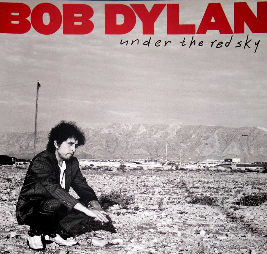Photo of Bob Dylan - Under The Red Sky Album's Front Cover