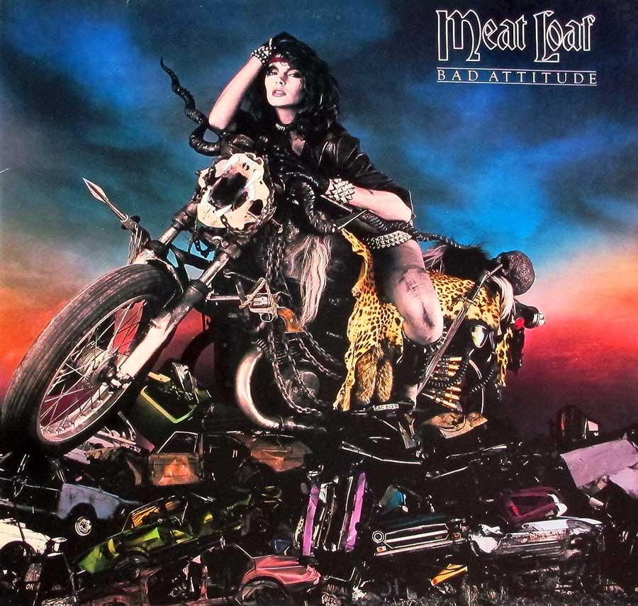 MEAT LOAF - Bad Attitude American Rock-Pop Vinyl Album ...