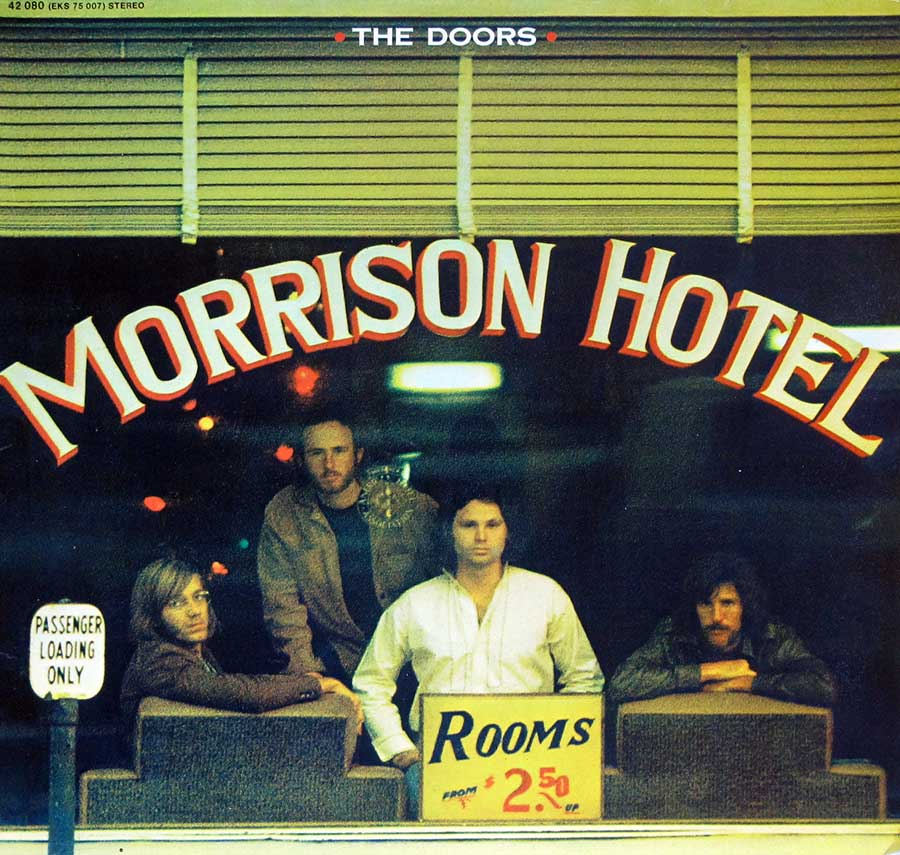 Front Cover Photo Of THE DOORS - Morrison Hotel ( German Release )