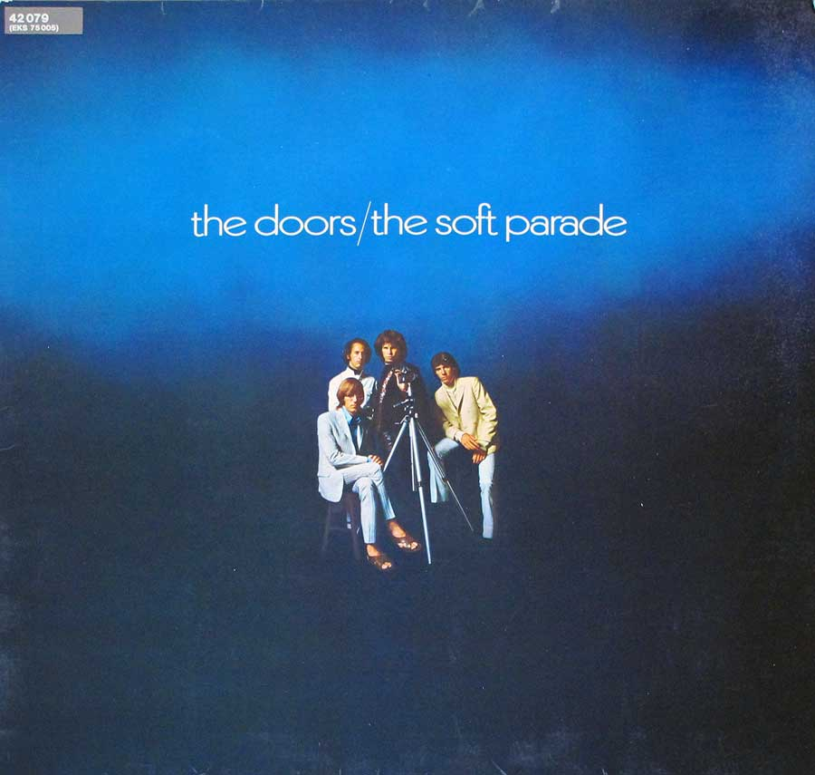 "THE DOORS - The Soft Parade Gatefold Cover 12"" LP VINYL ALBUM front cover https://vinyl-records.nl"