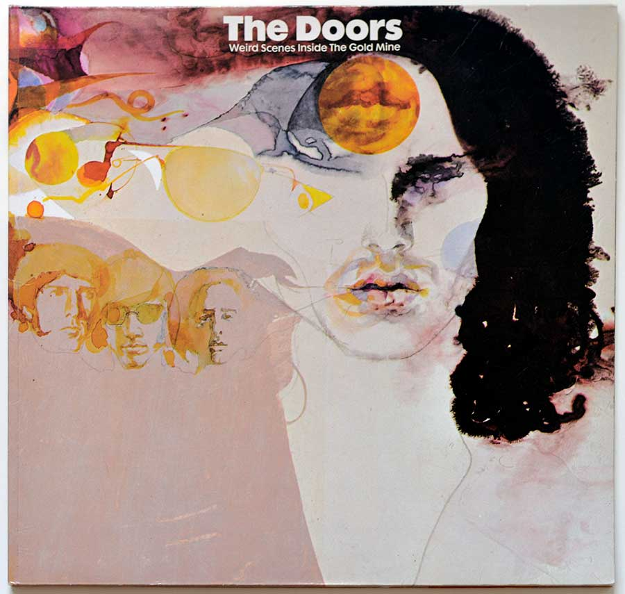 Front Cover Photo Of THE DOORS - Weird Scenes inside the Gold Mine