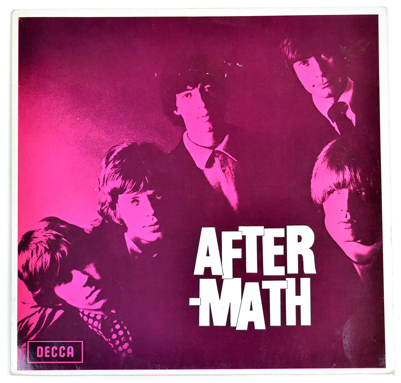 Front Cover Photo Of ROLLING STONES - Aftermath DECCA NETHERLANDS