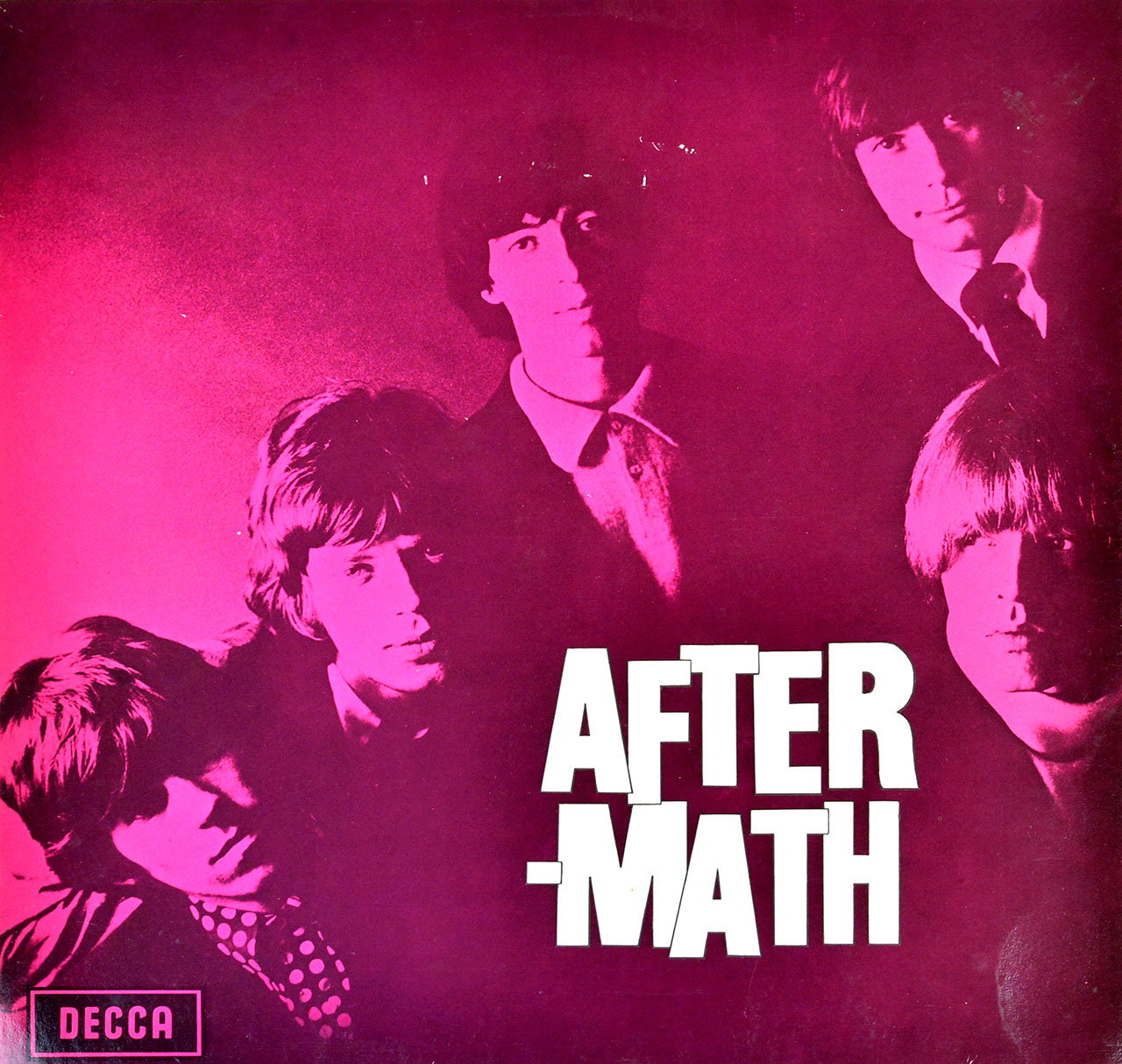 Album Front Cover Photo of ROLLING STONES - Aftermath DECCA NETHERLANDS