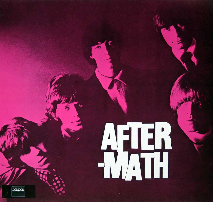 Album Front Cover Photo of ROLLING STONES - Aftermath London Records Holland