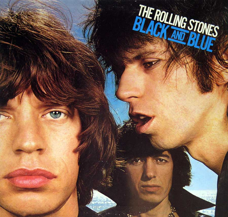 Front Cover Photo Of THE ROLLING STONES - Black and Blue