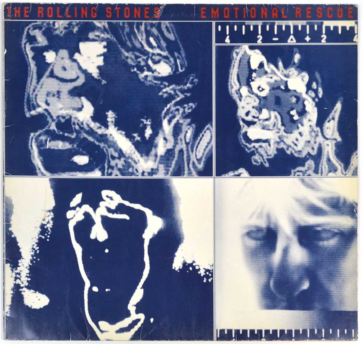 "Album Front Cover Photo of ""ROLLING STONES - Emotional Rescue"""