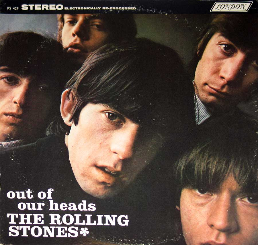 Photo of album back cover Rolling Stones - Out of Our Heads London PS 429