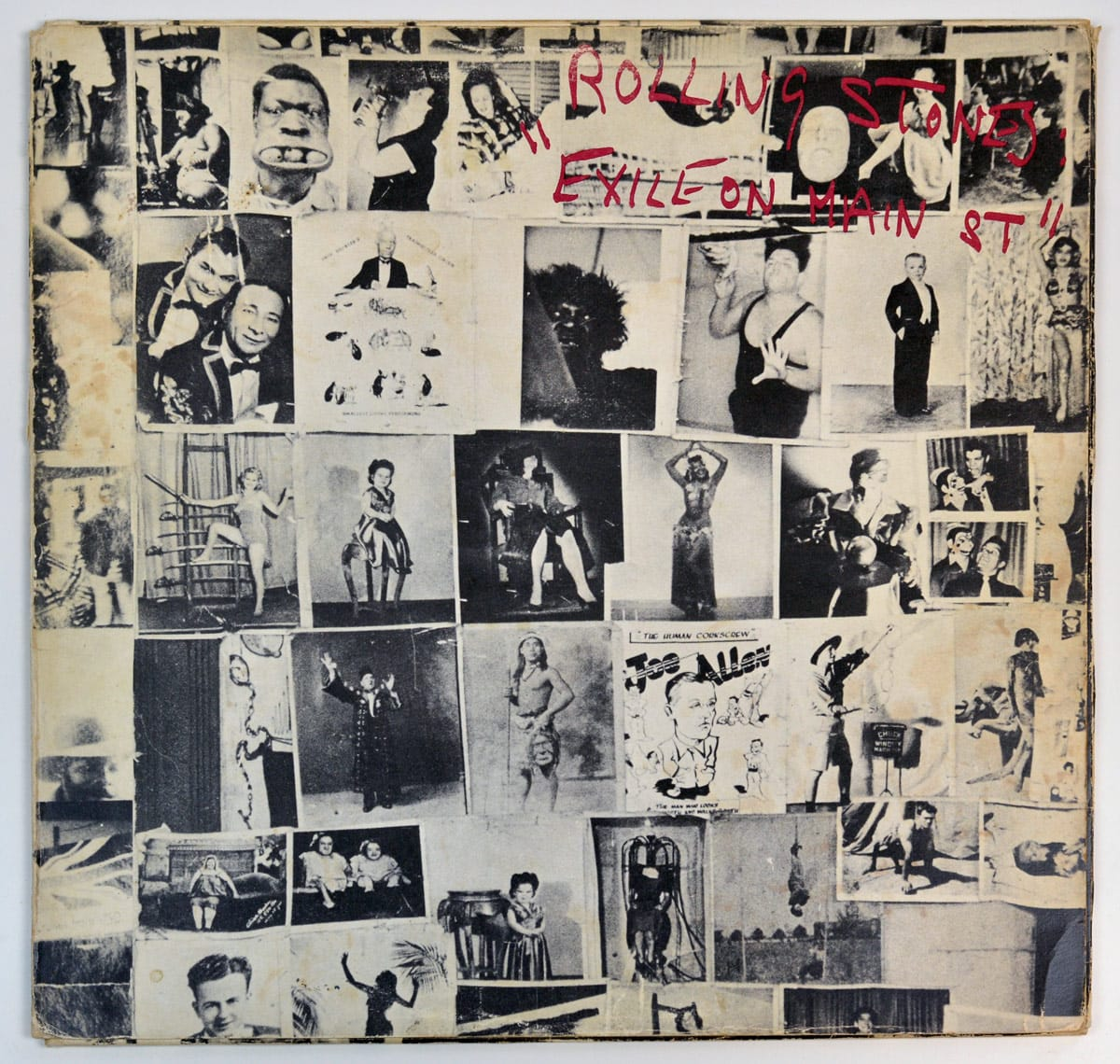 Front Cover Photo Of ROLLING STONES Exile on Main Street