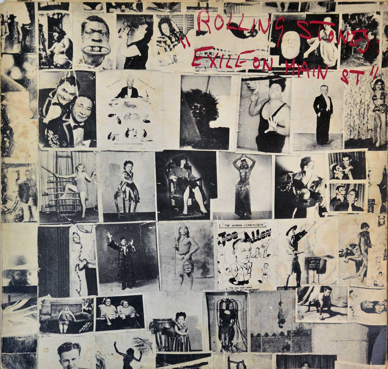 Album Front Cover Photo of ROLLING STONES Exile on Main Street