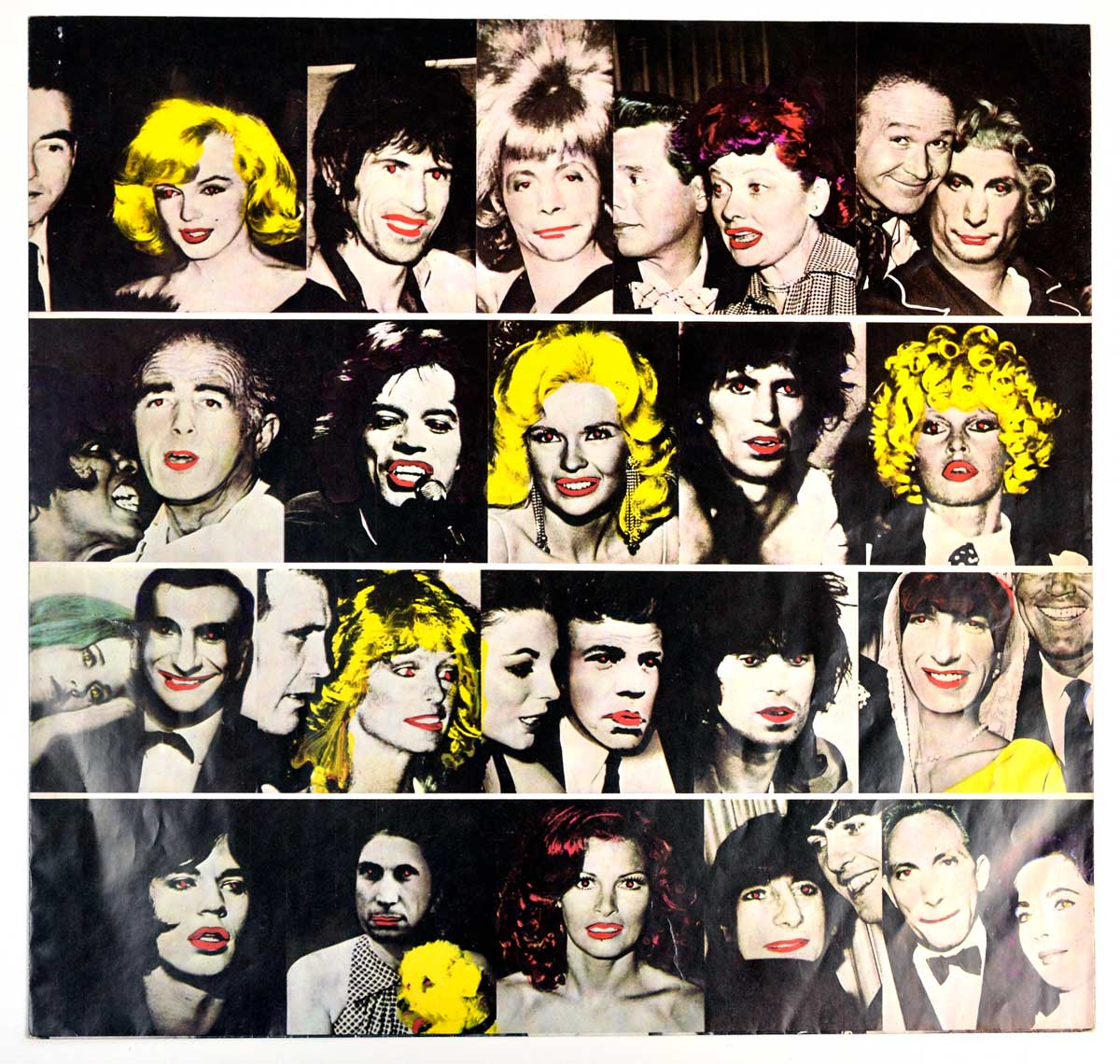 "Inner Sleeve   of ""ROLLING STONES - Some Girls (Sweden)"" Album"