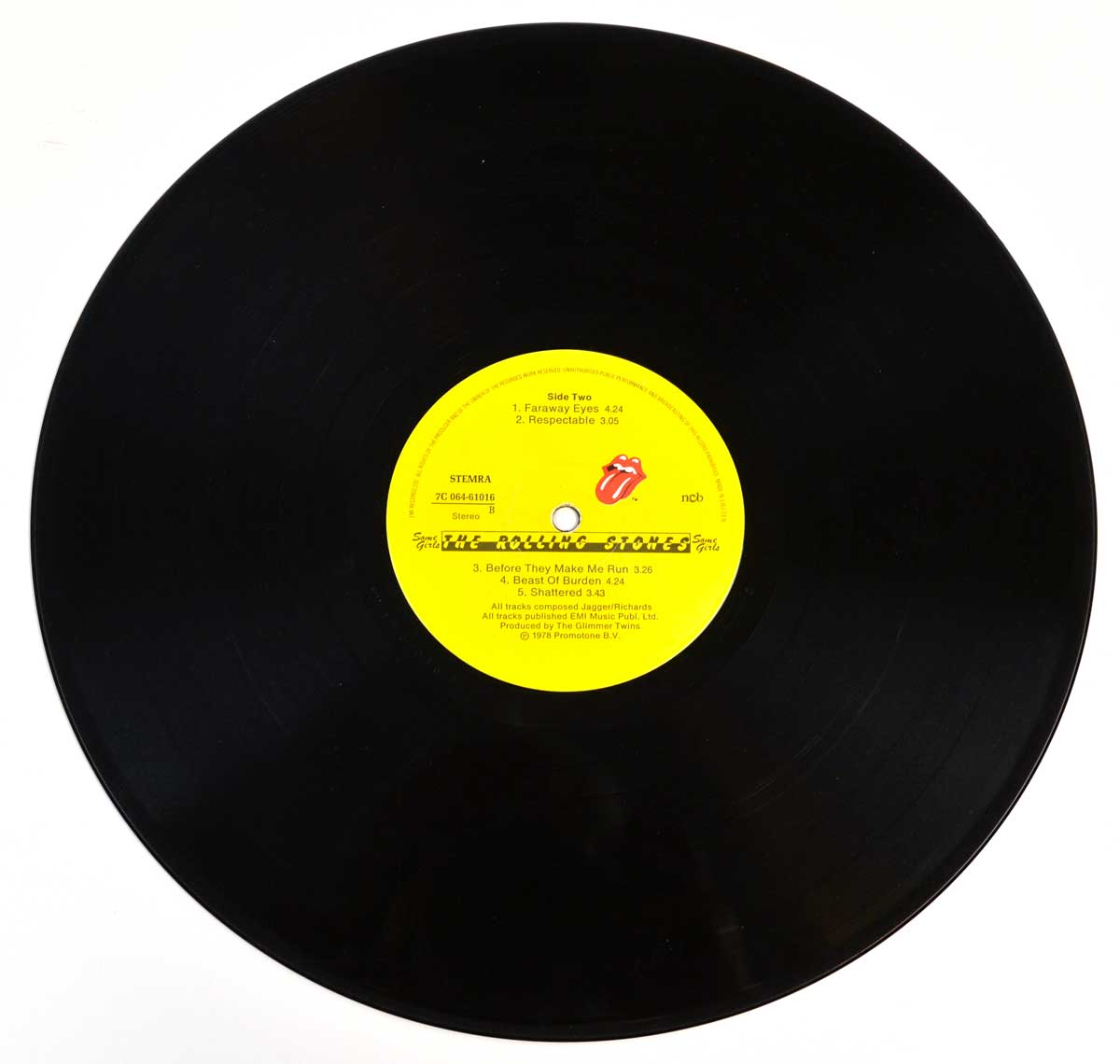 "Photo of ""ROLLING STONES - Some Girls (Sweden)"" 12"" LP Record - Side Two:"