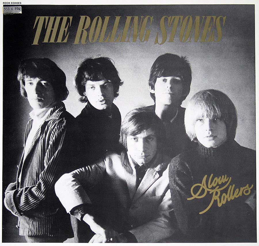 Front Cover Photo Of ROLLING STONES - Slow Rollers