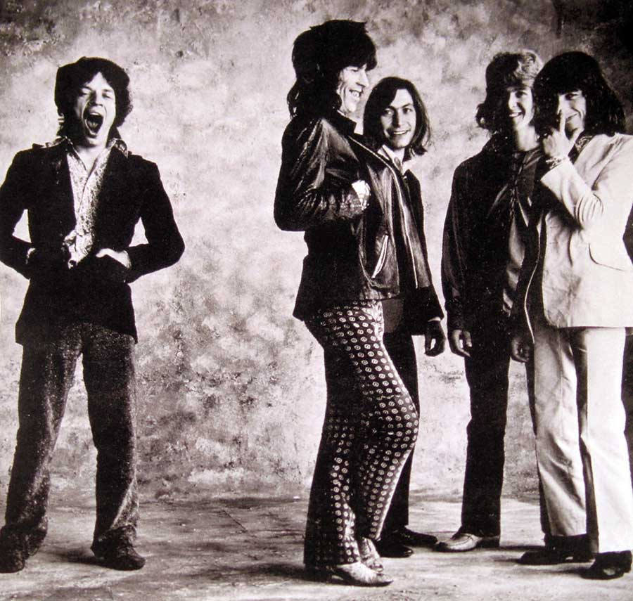 Photo Two of the original custom inner sleeve  ROLLING STONES - Sticky Fingers UK