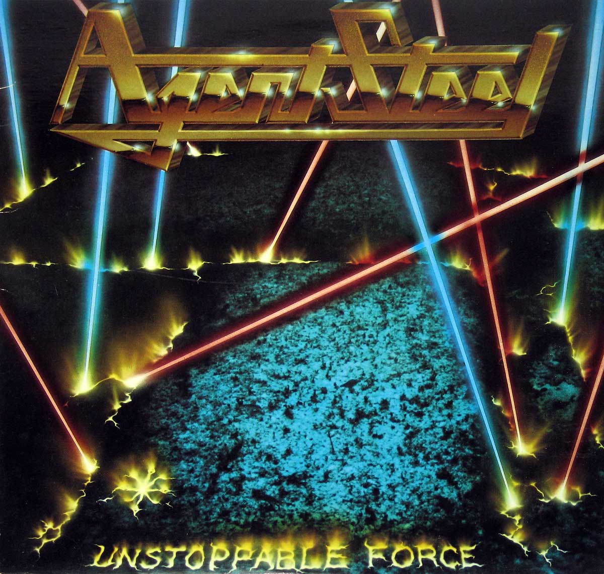 Album Front Cover Photo of AGENT STEEL - Unstoppable Force ( Canadian Release )