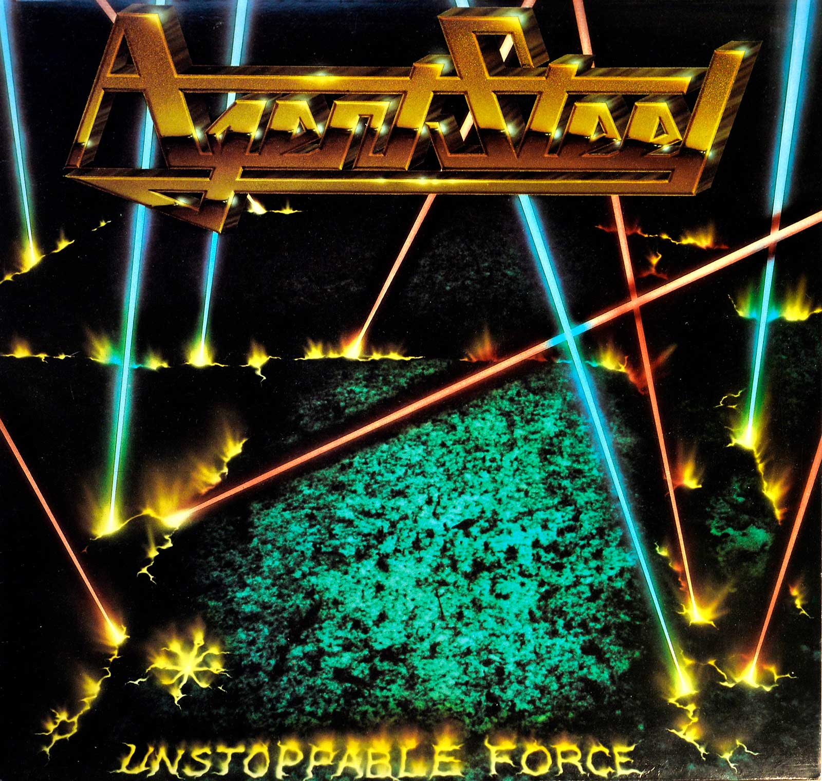 large photo of the album front cover of: Unstoppable Force