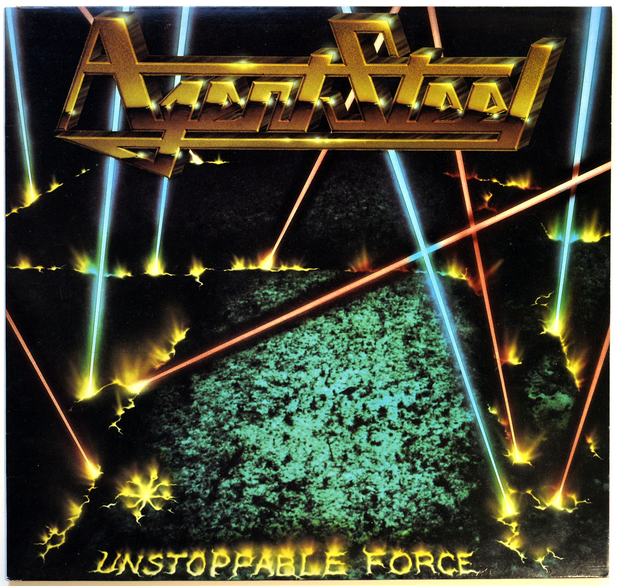 High Resolution Photo #10 AGENT STEEL Unstoppable Force UK https://vinyl-records.nl