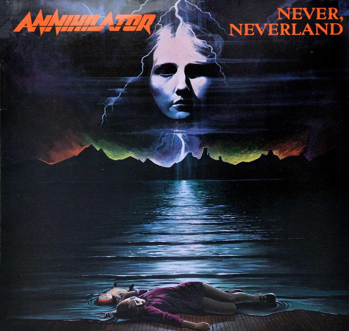 Large Album Front Cover Photo of ANNIHILATOR - Never, Neverland