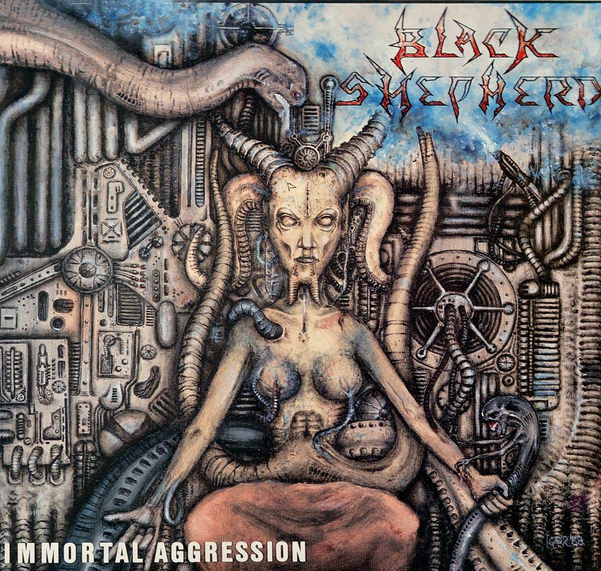 Album Front Cover Photo of BLACK SHEPHERD (Belgium) - Immortal Aggression