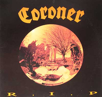 Thumbnail Of  CORONER - R.I.P. album front cover