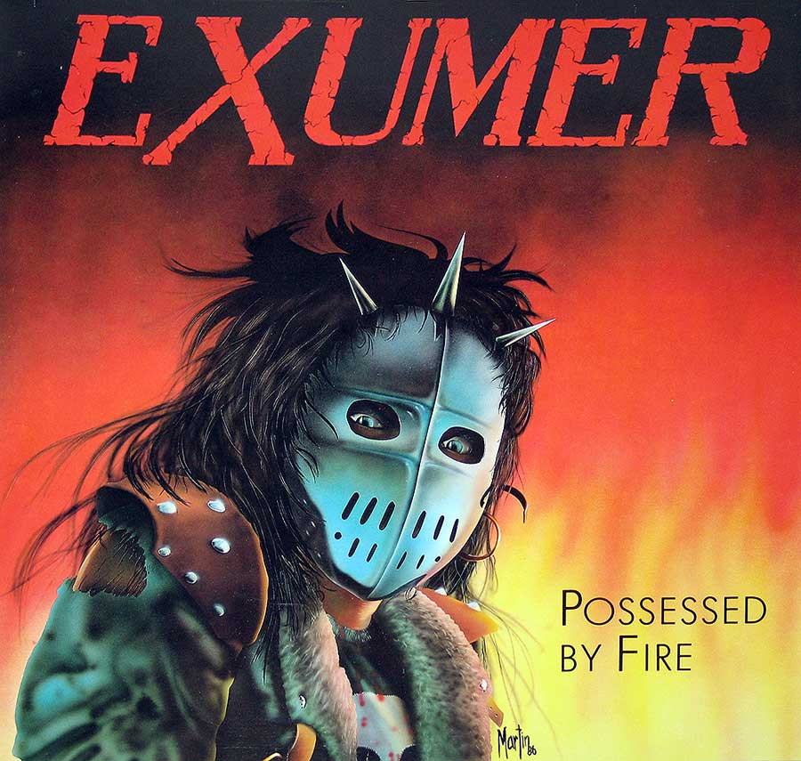 Front Cover Photo Of EXUMER - Possessed By Fire