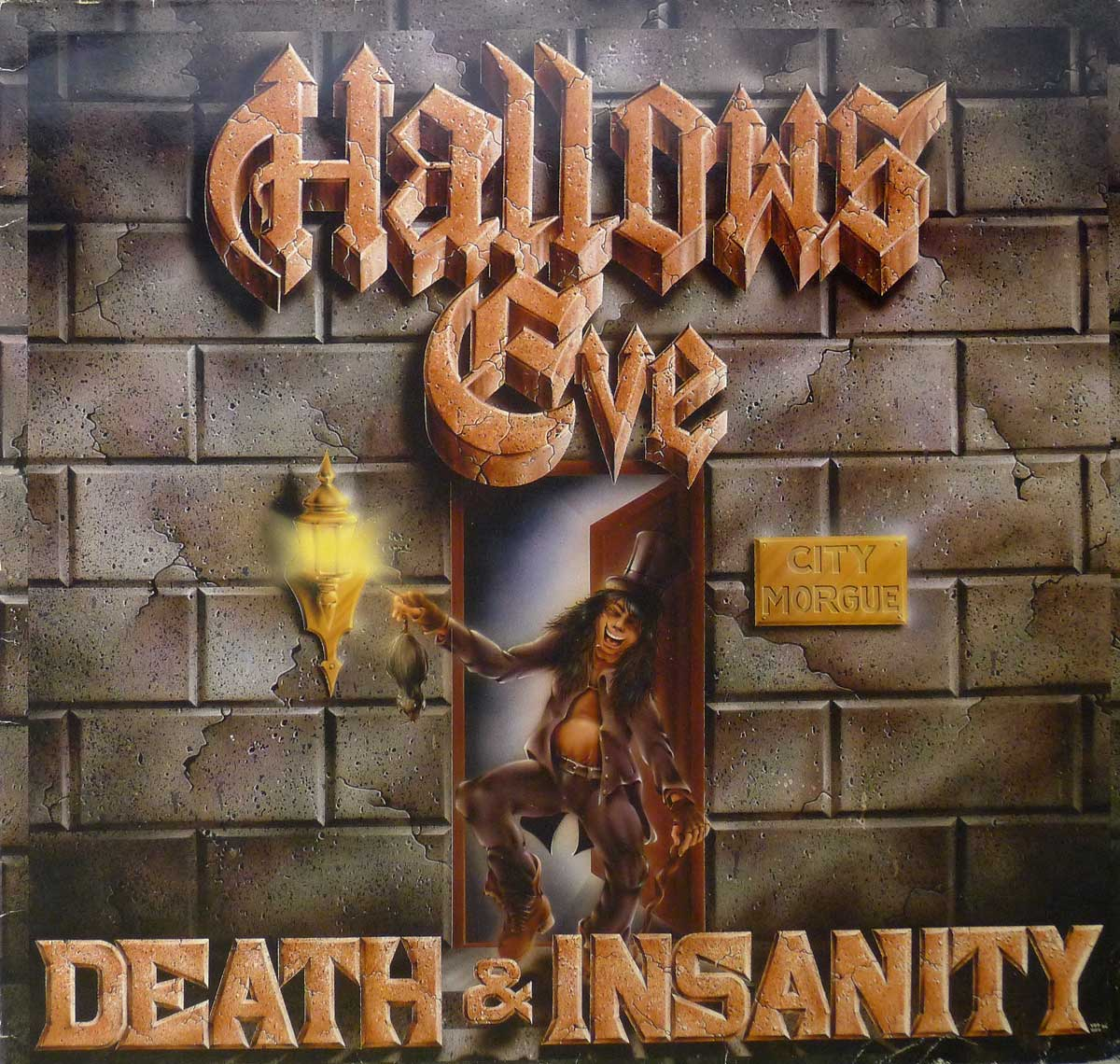 large photo of the album front cover of: Hallow's Eve Death & Insanity