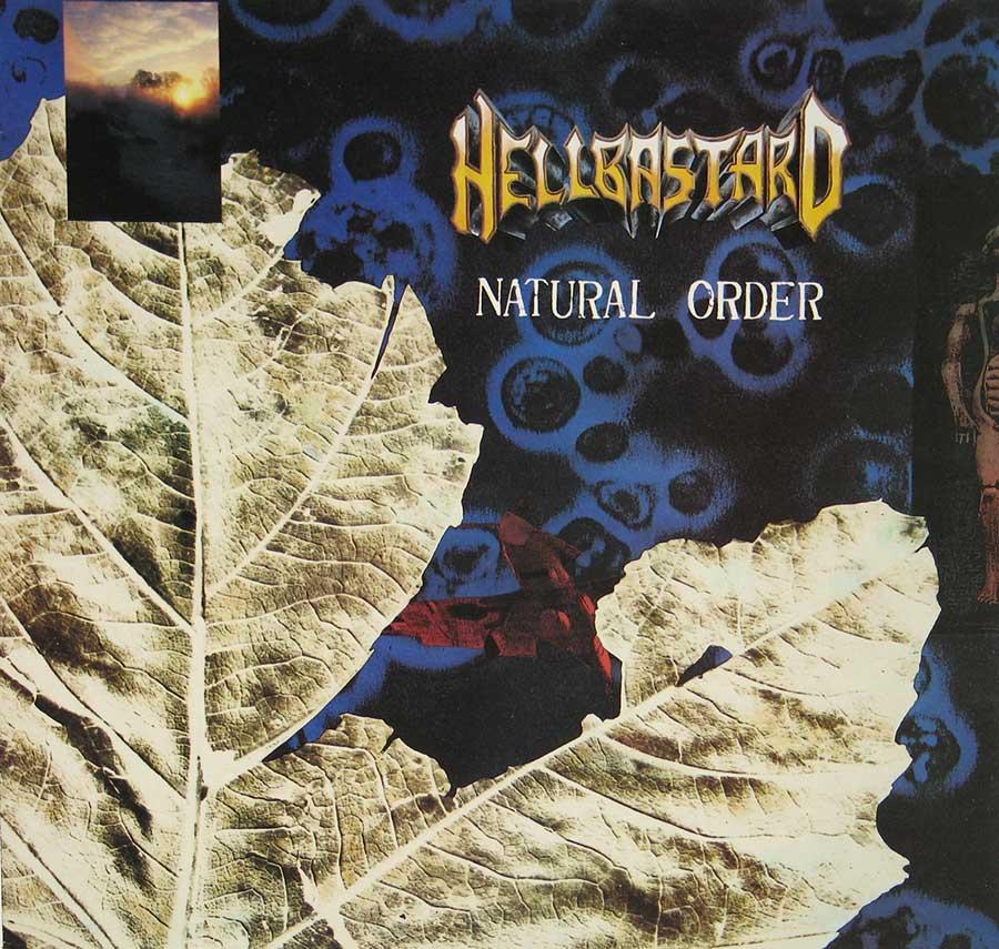 "Front Cover Photo Of HELLBASTARD - NATURAL ORDER 12"" VINYL LP ALBUM"