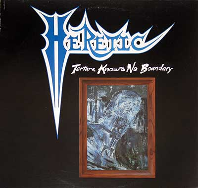 "Thumbnail of HERETIC - Torture Knows no Boundary 12"" EP album front cover"