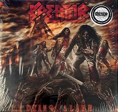 Thumbnail Of  KREATOR - Dying Alive ( Ltd Ed,  Yellow Viny ) album front cover