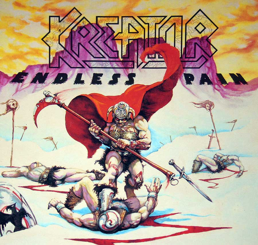 "Front Cover Photo Of KREATOR - Endless Pain ( Thrash Metal, Germany ) 12"" Vinyl LP Album"