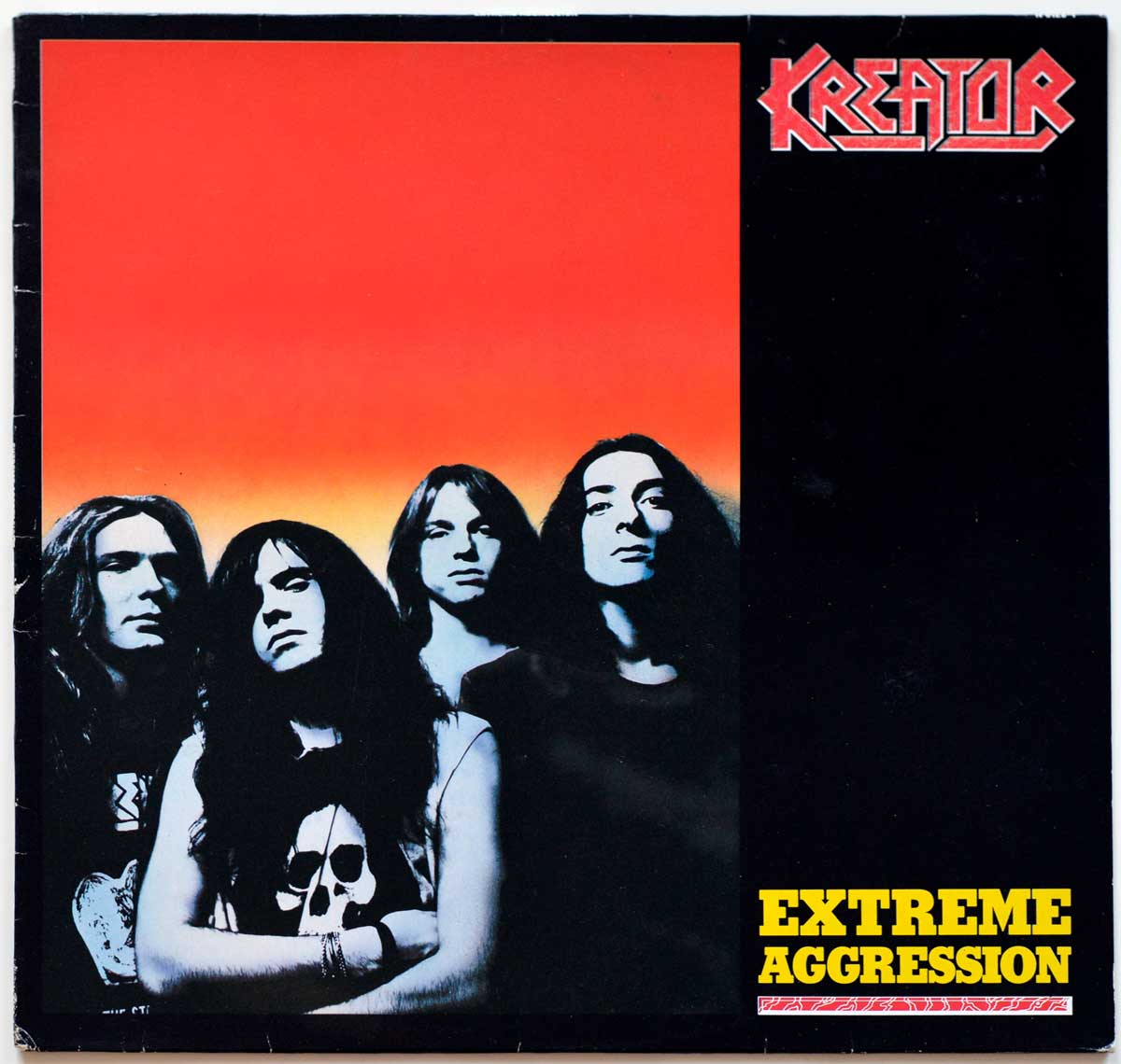 High Resolution Photo #10 KREATOR - Extreme Aggression https://vinyl-records.nl