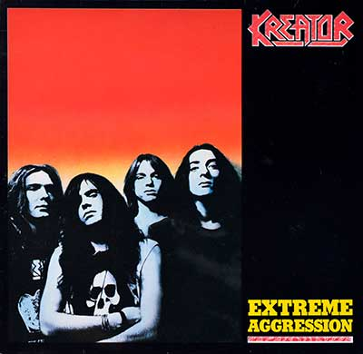 Picture Of  KREATOR - Extreme Aggression ( Thrash Metal ) album front cover
