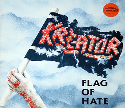 Picture Of KREATOR - Flag of Hate ( Thrash Metal ) album front cover