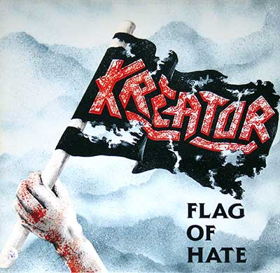 Picture Of KREATOR - Flag of Hate (USA) album front cover