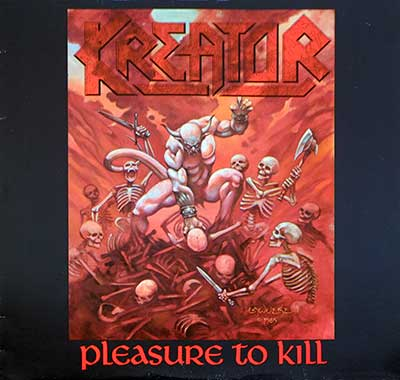 Picture Of KREATOR - Pleasure to Kill ( Thrash Metal ) album front cover