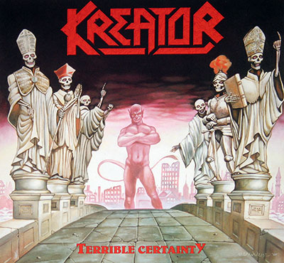 Picture Of KREATOR - Terrible Certainty ( Thrash Metal ) album front cover