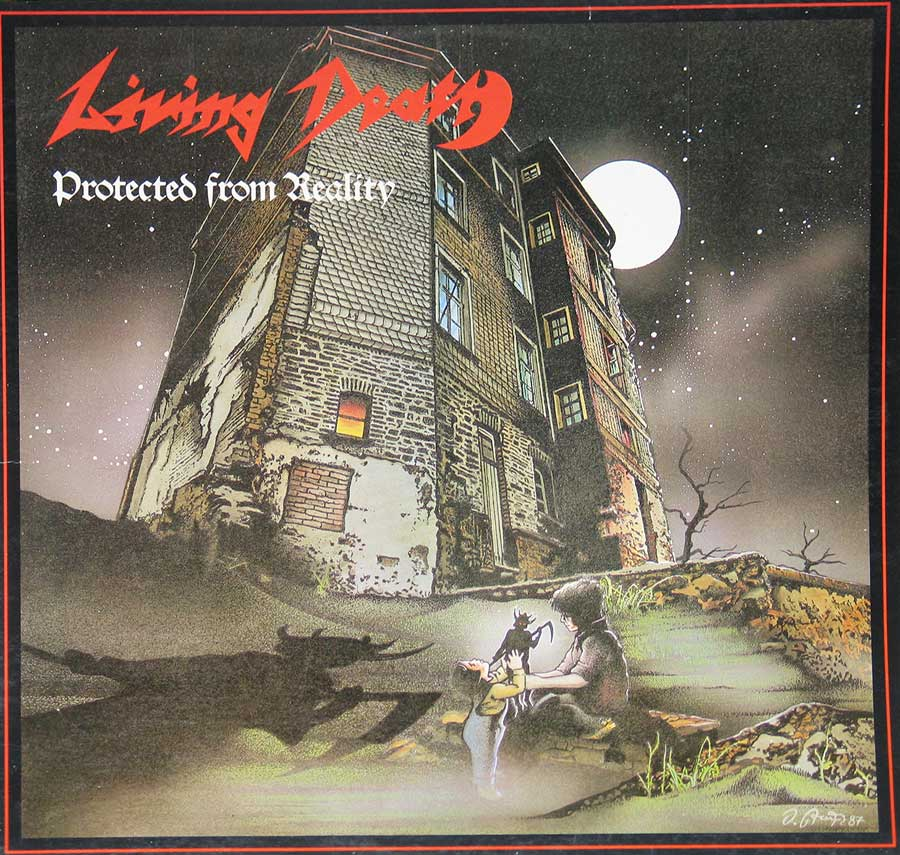 Album front cover photo of : Living Death Protected From Reality