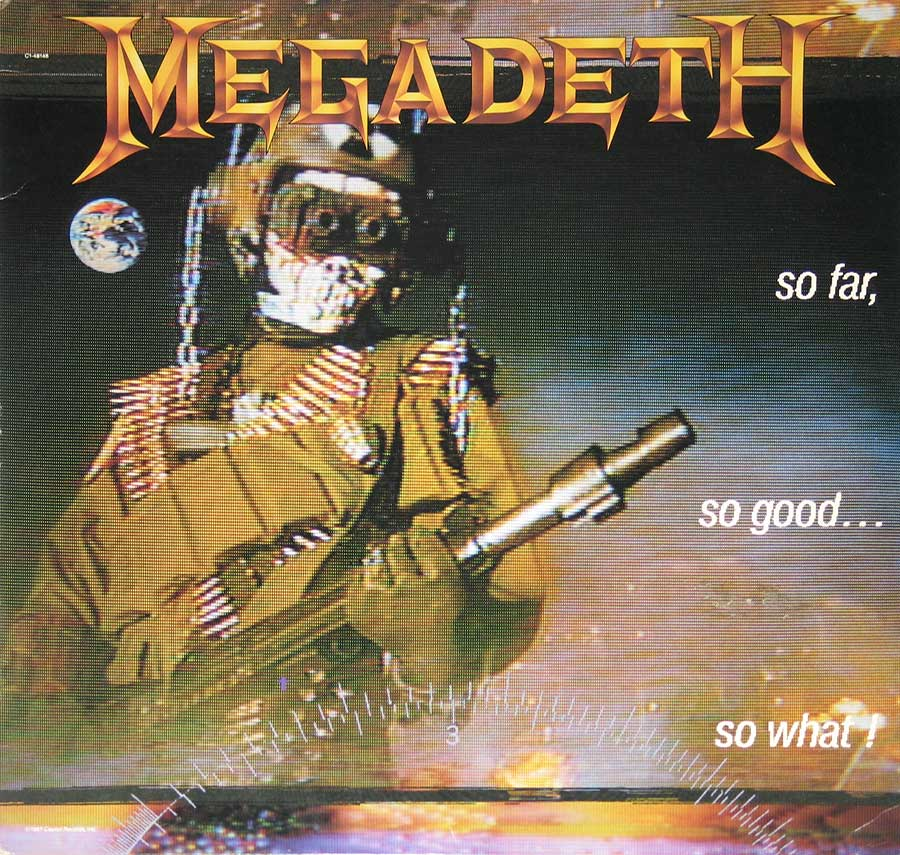High Resolution Photo Megadeth So Far So Good So What ( USA Release ) Vinyl Record