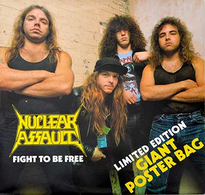 Thumbnail Of  NUCLEAR ASSAULT - Fight To Be Free album front cover