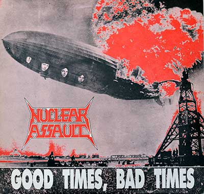 Thumbnail Of  NUCLEAR ASSAULT - Good Times, Bad Times album front cover