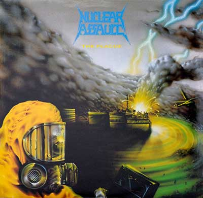 Thumbnail Of  NUCLEAR ASSAULT - The Plague album front cover