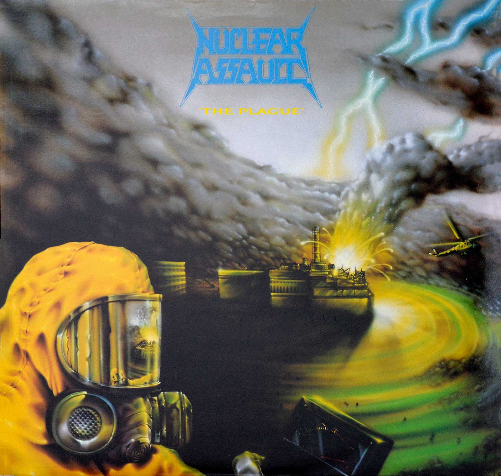 Album Front Cover Photo of NUCLEAR ASSAULT - The Plague