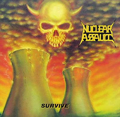 Thumbnail Of  NUCLEAR ASSAULT - Survive album front cover