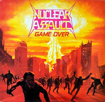 Thumbnail Of  NUCLEAR ASSAULT - Game Over album front cover