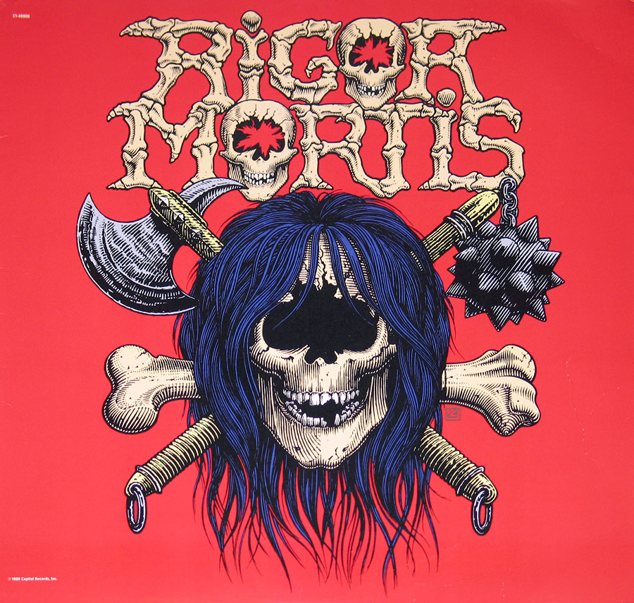 "RIGOR MORTIS - Self-Titled 12"" VINYL LP ALBUM front cover https://vinyl-records.nl"