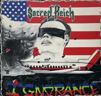 Thumbnail Of  SACRED REICH - Ignorance album front cover