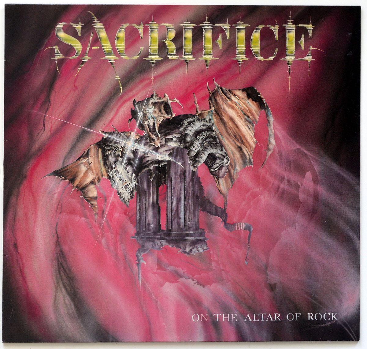 High Resolution Photo #10 SACRIFICE ON THE ALTAR OF ROCK https://vinyl-records.nl