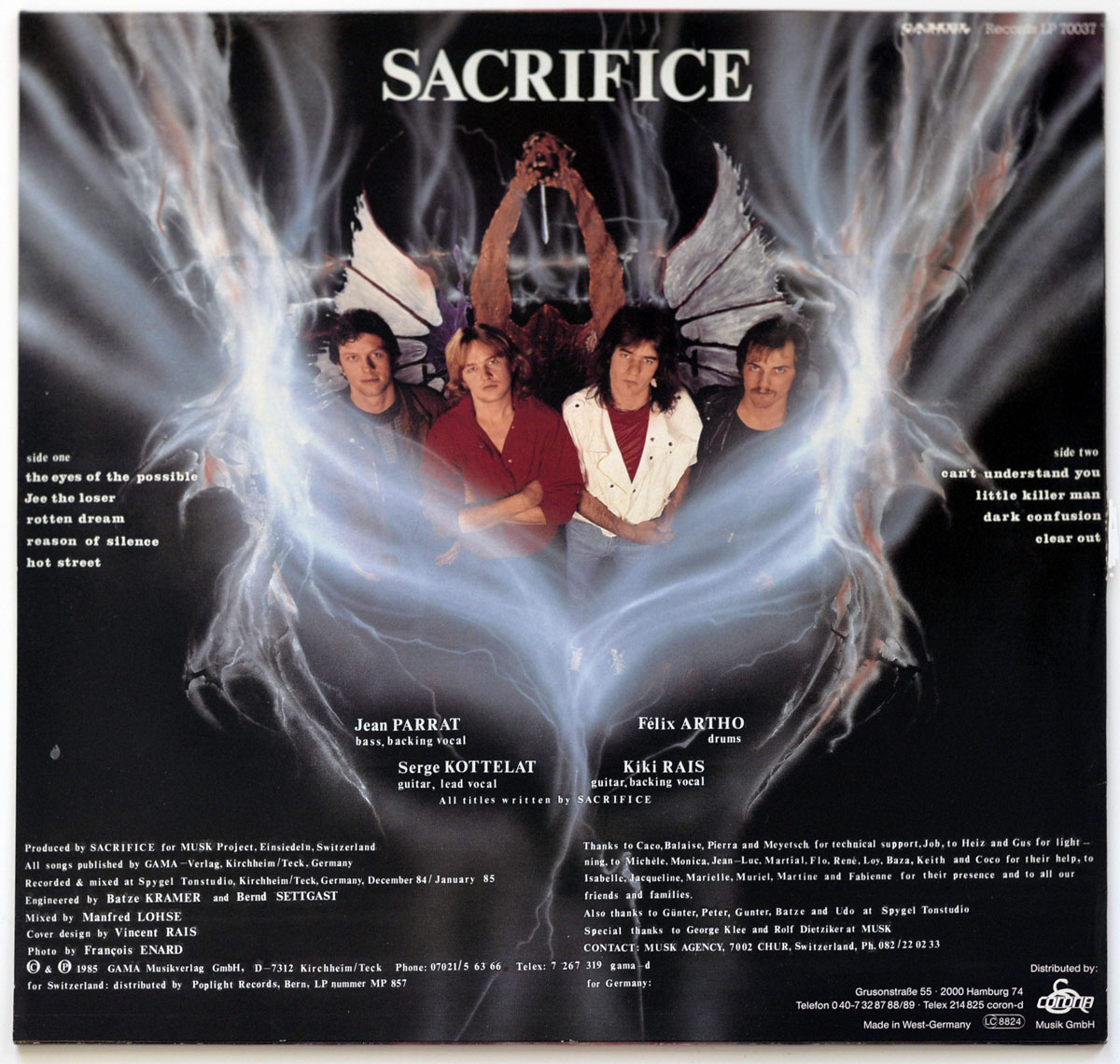 High Resolution Photo #11 SACRIFICE ON THE ALTAR OF ROCK https://vinyl-records.nl