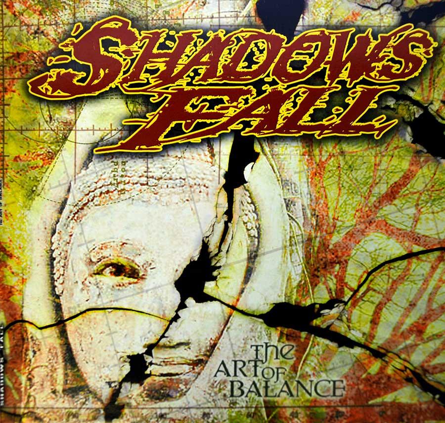 "SHADOWS FALL - The Art Of Balance 12"" White Coloured VINYL LP Album front cover https://vinyl-records.nl"
