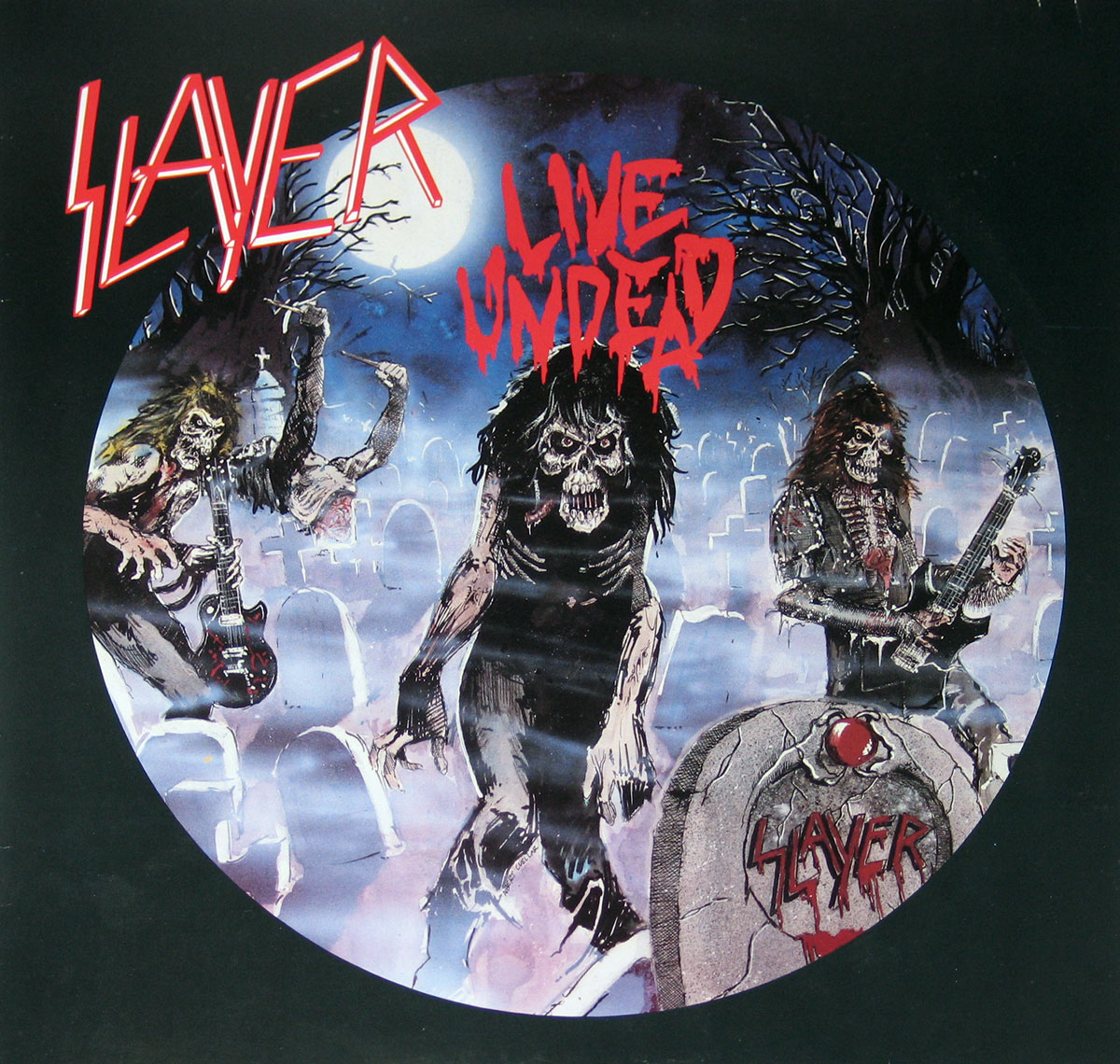 High Resolution Photo #1 SLAYER Live Undead